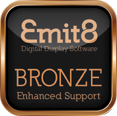 Emit8 Bronze Enhanced Support offers you reassurance and peace of mind